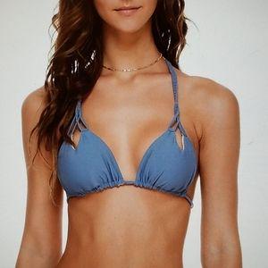"NWOT *luli fama ""Cosita Buena"" Bikini Top"